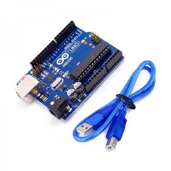 Officiel Arduino UNO R3 ATMEGA16U2 avec câble USB