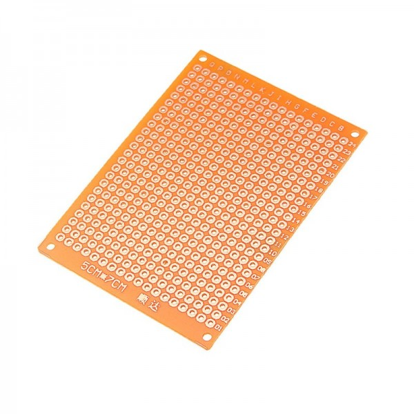 Carte de Prototype papier cuivre PCB universel 5x7cm