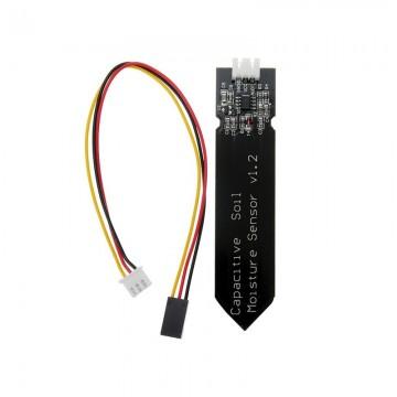 Capteur capacitif analogique d'humidité du sol V1.2 anticorrosion avec le fil de câble