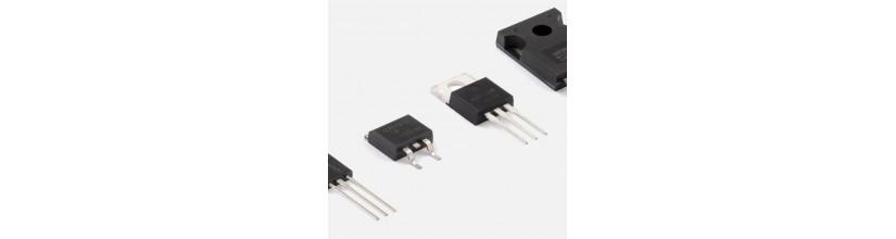 Transistors : IGBT , MOSFET , NPN , PNP , BIPOLAR