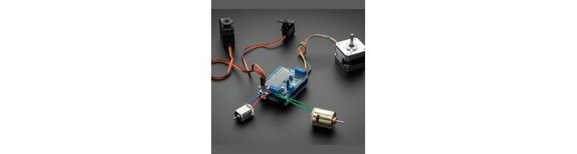 Motors and Actuators: Servo motor, Stepper motor, DC motor - Morocco